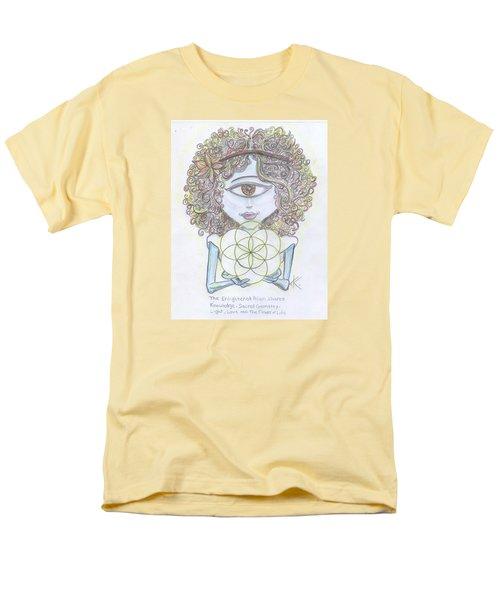 Enlightened Alien Men's T-Shirt  (Regular Fit)