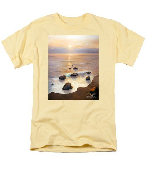 Men's T-Shirt  (Regular Fit) featuring the painting Eventide by Michael Rock