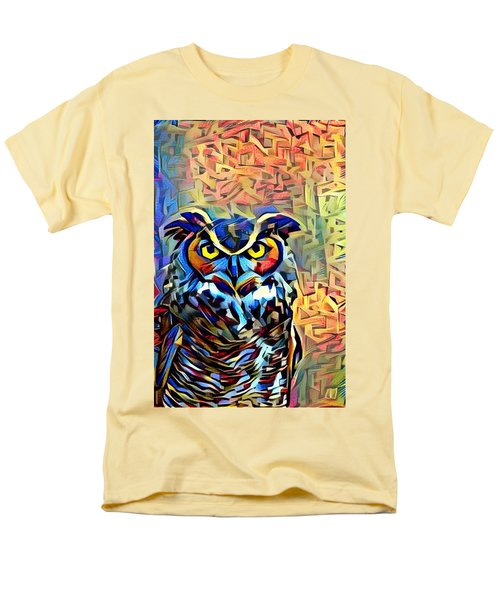 Men's T-Shirt  (Regular Fit) featuring the photograph Eyes Of Wisdom by Geri Glavis