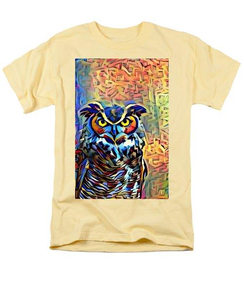 Eyes Of Wisdom Men's T-Shirt  (Regular Fit) by Geri Glavis