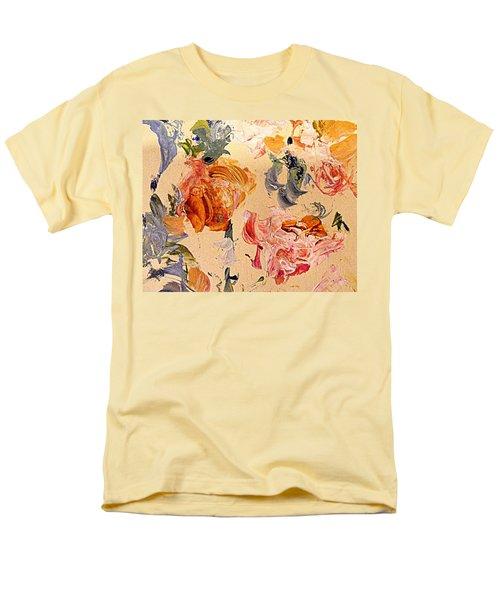 Fall Roses Men's T-Shirt  (Regular Fit) by Nancy Kane Chapman