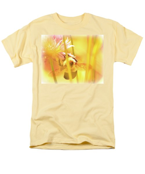 Fame Is A Bee Men's T-Shirt  (Regular Fit) by Bob Orsillo