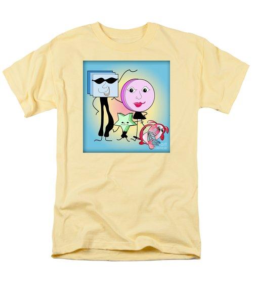 Families Men's T-Shirt  (Regular Fit) by Iris Gelbart