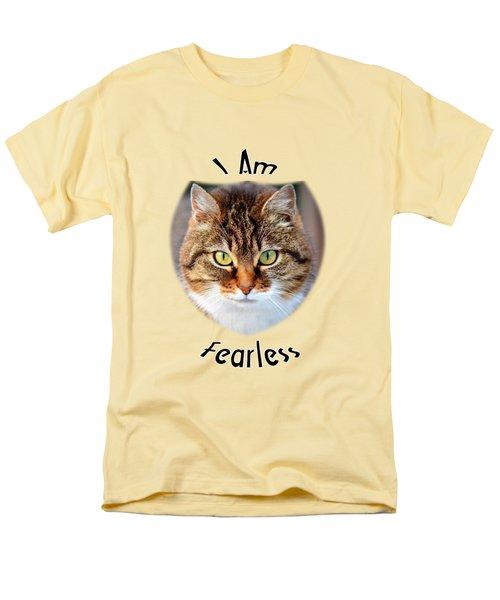 Fearless Men's T-Shirt  (Regular Fit) by Judi Saunders