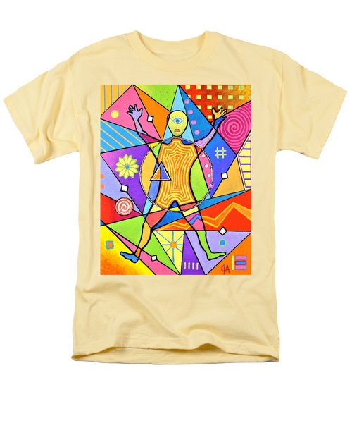 Feel The Vibes Men's T-Shirt  (Regular Fit) by Jeremy Aiyadurai