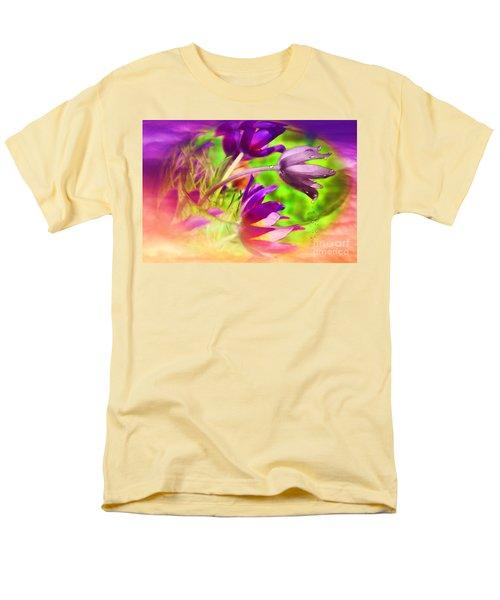 Fighting Circumstances Men's T-Shirt  (Regular Fit) by Cathy  Beharriell