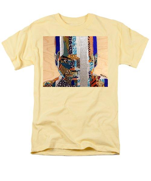 Finn Star Wars Awakens Afrofuturist  Men's T-Shirt  (Regular Fit) by Apanaki Temitayo M