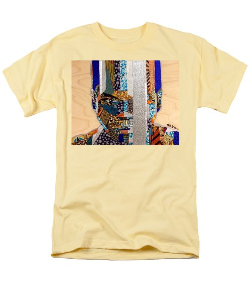 Finn Star Wars Awakens Afrofuturist  Men's T-Shirt  (Regular Fit)