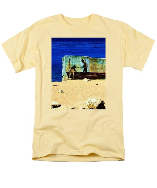 Men's T-Shirt  (Regular Fit) featuring the photograph Fishing by Vanessa Palomino
