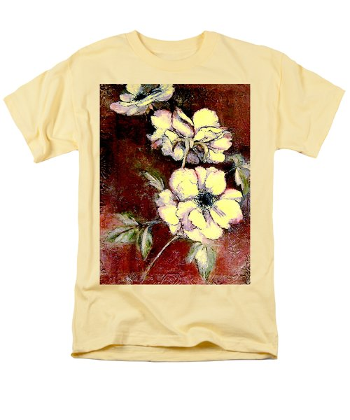 Floral Watercolor Painting Men's T-Shirt  (Regular Fit) by Merton Allen