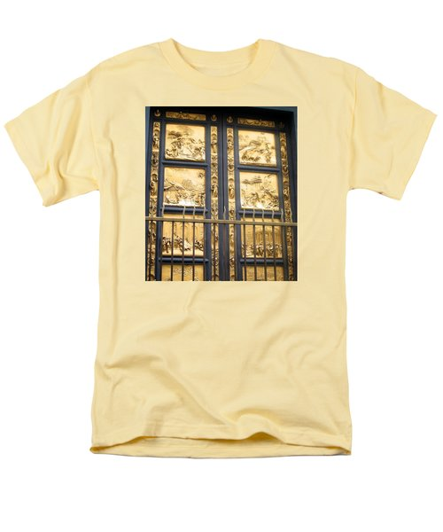 Florence Baptistry Doors Men's T-Shirt  (Regular Fit) by Lisa Boyd