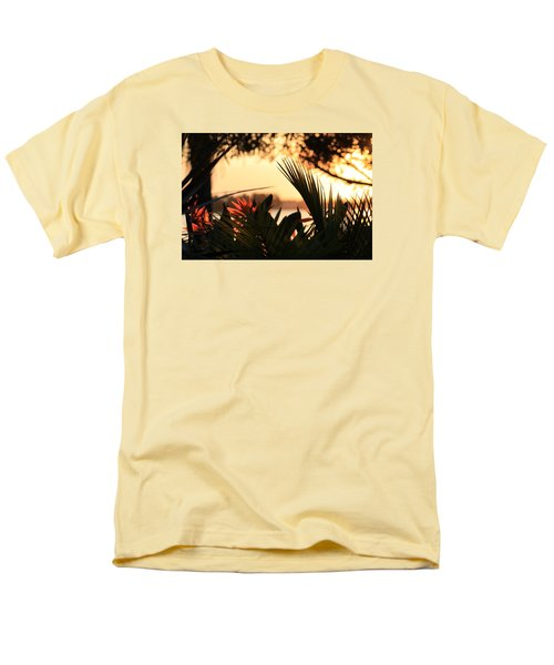 Men's T-Shirt  (Regular Fit) featuring the photograph Florida Sunrise by Diane Merkle