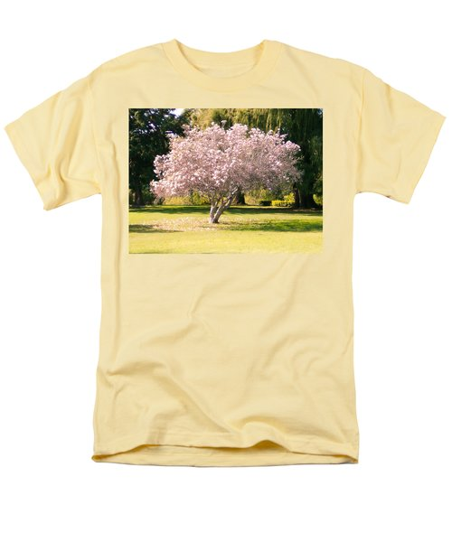 Flowering Tree Men's T-Shirt  (Regular Fit) by Mark Barclay