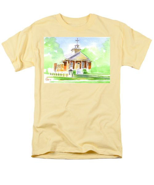Fort Hill Methodist Church 2 Men's T-Shirt  (Regular Fit) by Kip DeVore
