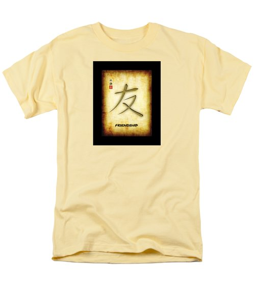 Friendship  Men's T-Shirt  (Regular Fit) by John Wills