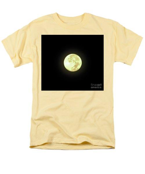 Full Moon August 2014 Men's T-Shirt  (Regular Fit) by D Hackett