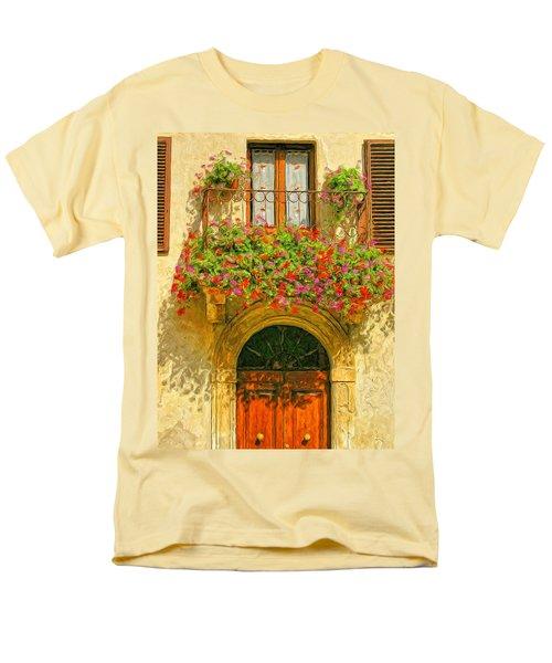 Gerani Coloriti Men's T-Shirt  (Regular Fit) by Dominic Piperata