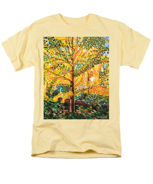 Gingko Tree Men's T-Shirt  (Regular Fit)