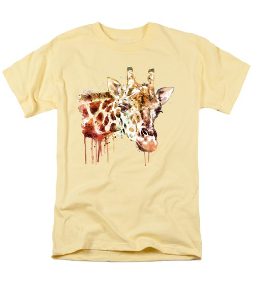 Giraffe Head Men's T-Shirt  (Regular Fit) by Marian Voicu