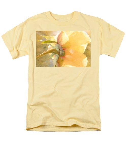 Golden Bowl Tree Peony Bloom - Back Men's T-Shirt  (Regular Fit) by Patti Deters