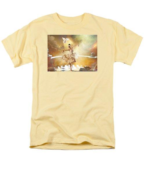 Golden Moments Men's T-Shirt  (Regular Fit) by Dolores Develde