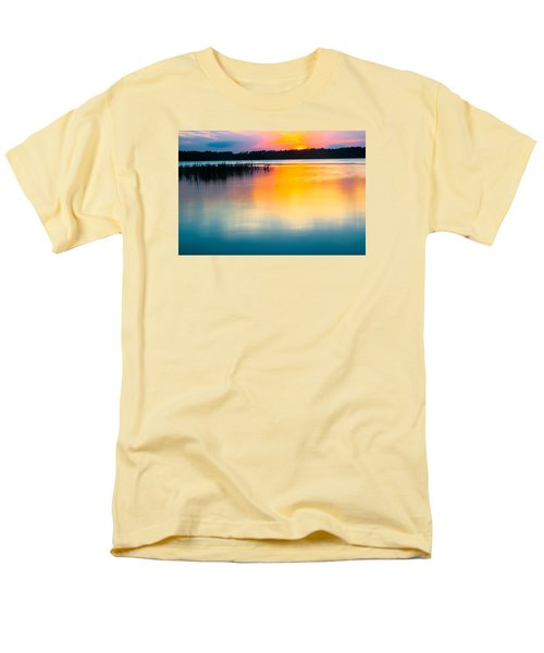 Golden Sunset Men's T-Shirt  (Regular Fit) by Parker Cunningham