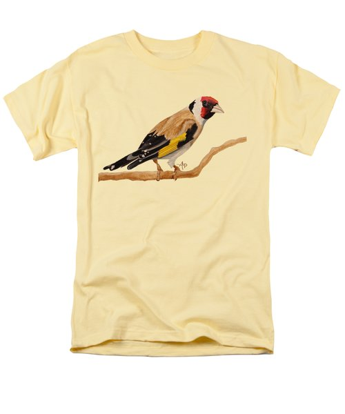 Goldfinch Men's T-Shirt  (Regular Fit) by Angeles M Pomata