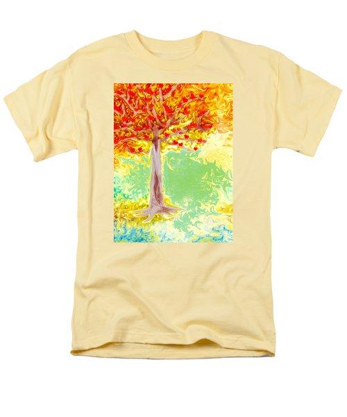 Growing Love Men's T-Shirt  (Regular Fit) by Claudia Ellis