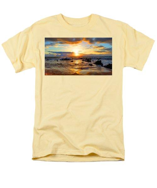 Hawaiian Paradise Men's T-Shirt  (Regular Fit) by Michael Rucker