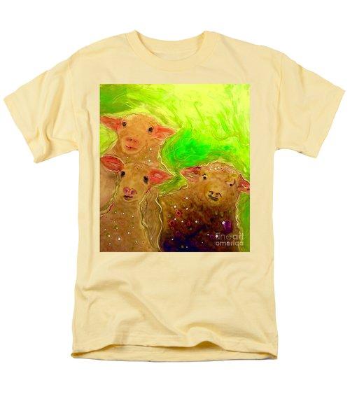 Hay What Dew Ewe Know Men's T-Shirt  (Regular Fit)