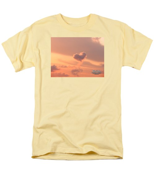 Hearts In The Clouds Men's T-Shirt  (Regular Fit) by Barbara Tristan