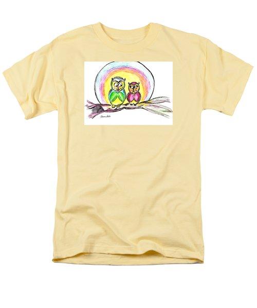 Hello Moonlight  Men's T-Shirt  (Regular Fit) by Ramona Matei