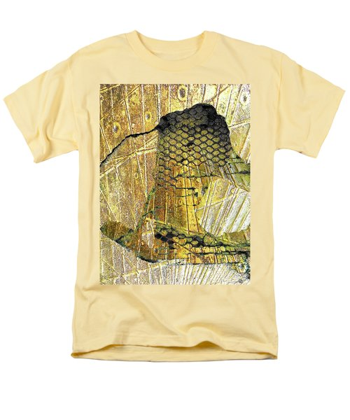Men's T-Shirt  (Regular Fit) featuring the mixed media Hole In The Wall by Tony Rubino
