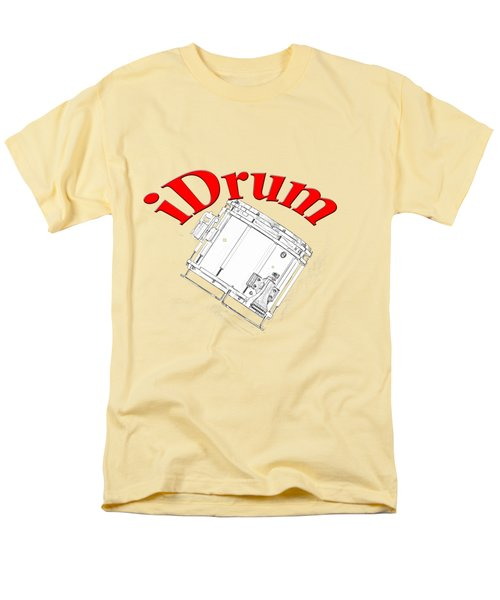 iDrum Men's T-Shirt  (Regular Fit) by M K  Miller