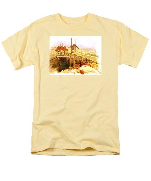 Il Grande Trabucco - Trebuchet Fishing Men's T-Shirt  (Regular Fit) by Zedi