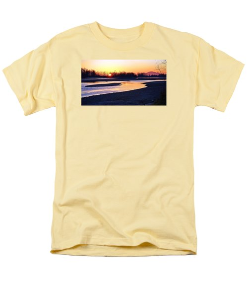 The Fraser River Men's T-Shirt  (Regular Fit) by Heather Vopni