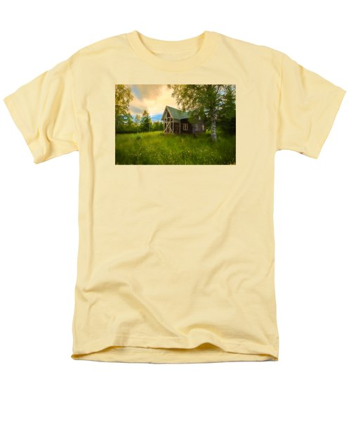 Men's T-Shirt  (Regular Fit) featuring the photograph In Peace In Your Grace by Rose-Maries Pictures