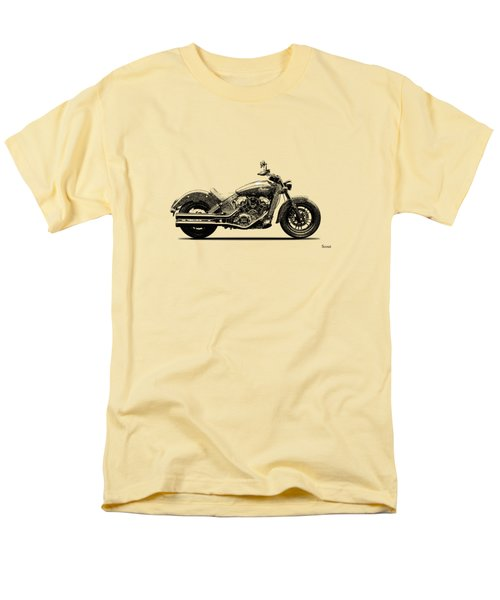 Indian Scout 2015 Men's T-Shirt  (Regular Fit) by Mark Rogan