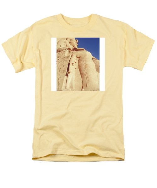 Egytian Monument Men's T-Shirt  (Regular Fit) by Patsy Jawo