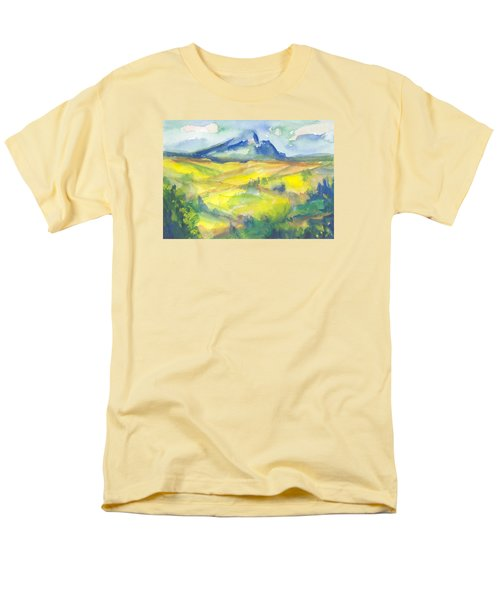 Inspired By Cezanne Men's T-Shirt  (Regular Fit) by Connie Schaertl