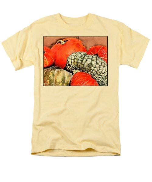 It's Pumpkin  Season Men's T-Shirt  (Regular Fit) by MaryLee Parker