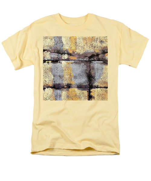 Jagged Lavendar Men's T-Shirt  (Regular Fit) by Maria Huntley
