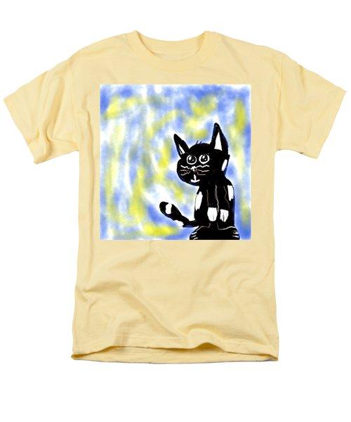 Kitty Kitty Men's T-Shirt  (Regular Fit) by Paulo Guimaraes