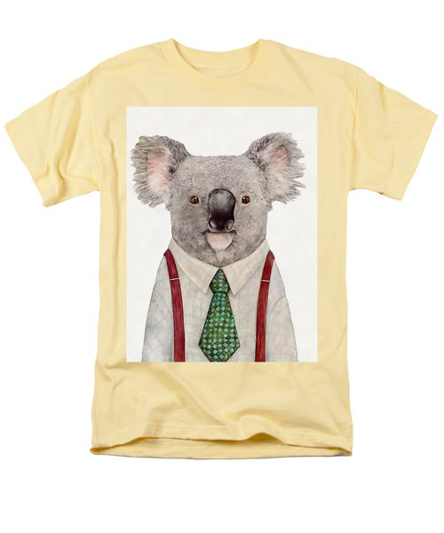 Koala Men's T-Shirt  (Regular Fit) by Animal Crew