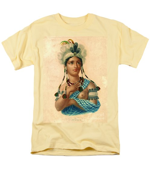L'amerique 1820 Men's T-Shirt  (Regular Fit) by Padre Art