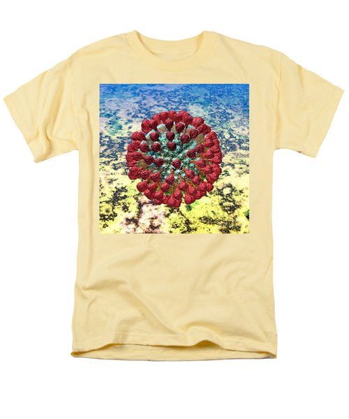 Lassa Virus Men's T-Shirt  (Regular Fit) by Russell Kightley