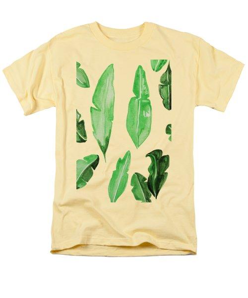 Leaves Men's T-Shirt  (Regular Fit) by Cortney Herron