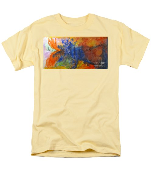 Let Your Music Take Wing Men's T-Shirt  (Regular Fit) by Sandy McIntire