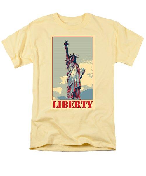Liberty Men's T-Shirt  (Regular Fit) by Richard Reeve