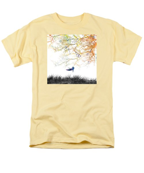 Men's T-Shirt  (Regular Fit) featuring the painting Lift Off by Trilby Cole